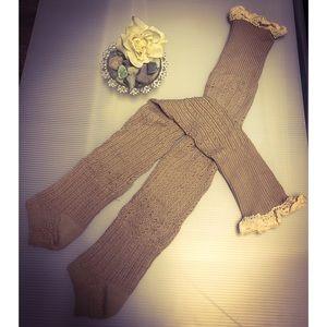 NWOT-Thigh-High Leg Sweaters